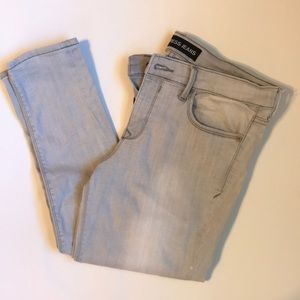 Express Jeans White/Gray Wash